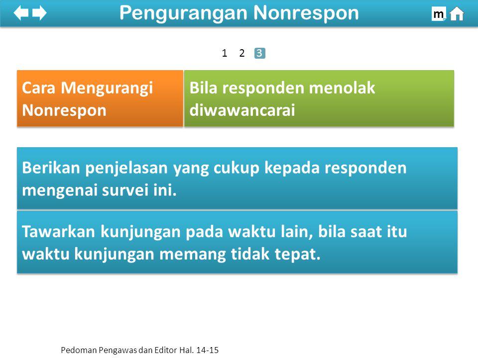 Pengurangan Nonrespon