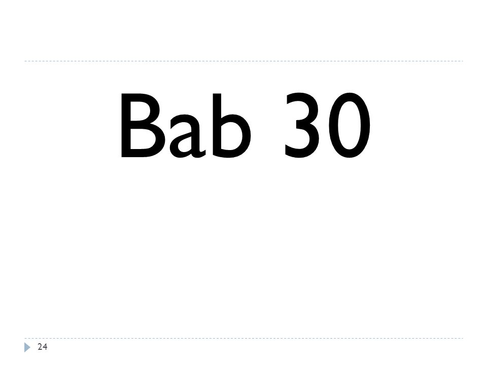 Bab 30
