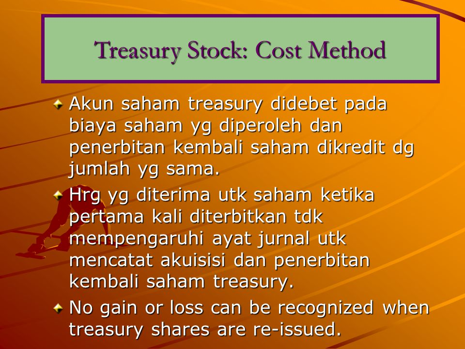 Treasury Stock: Cost Method