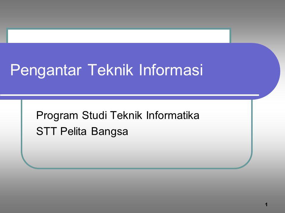 Pengantar Teknik Informasi