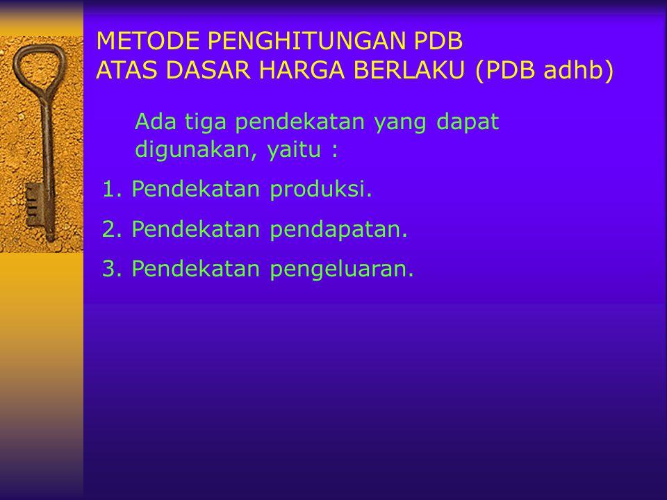 Ada tiga pendekatan yang dapat digunakan, yaitu :