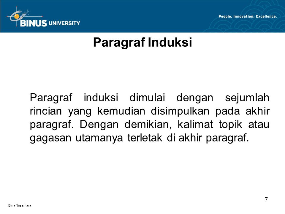 Paragraf Induksi