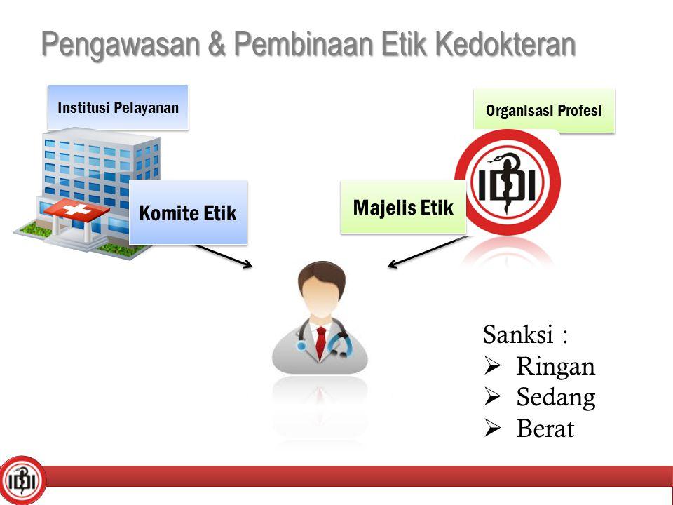Pengawasan & Pembinaan Etik Kedokteran
