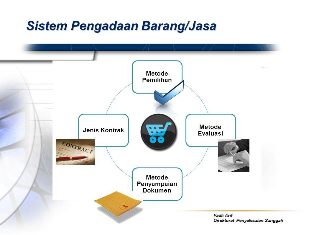 Sistem Pengadaan Barang/Jasa
