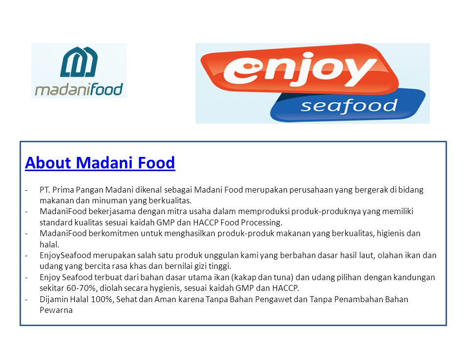 About Madani Food