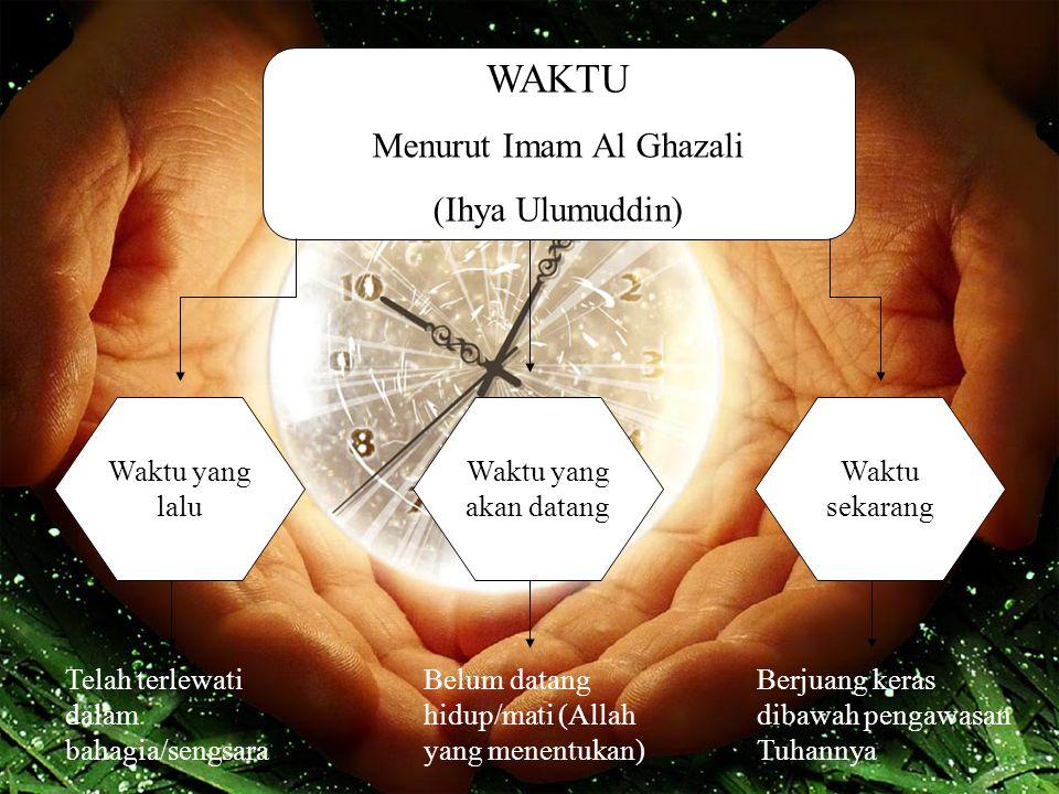 Menurut Imam Al Ghazali