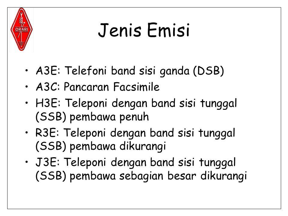 Jenis Emisi A3E: Telefoni band sisi ganda (DSB)