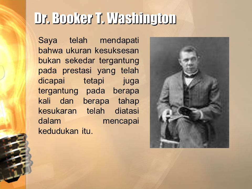 Dr. Booker T. Washington