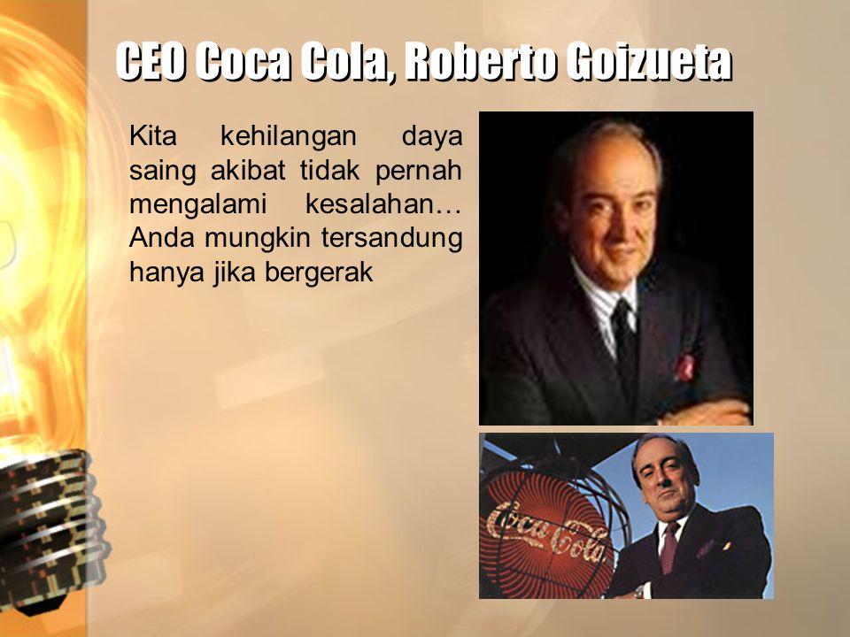 CEO Coca Cola, Roberto Goizueta