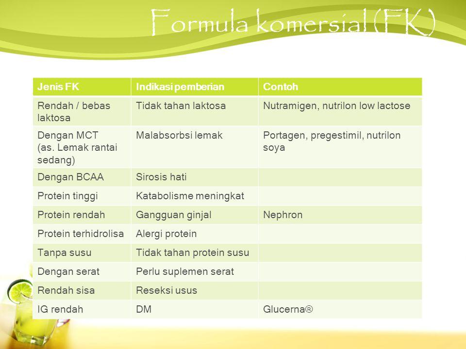Formula komersial (FK)