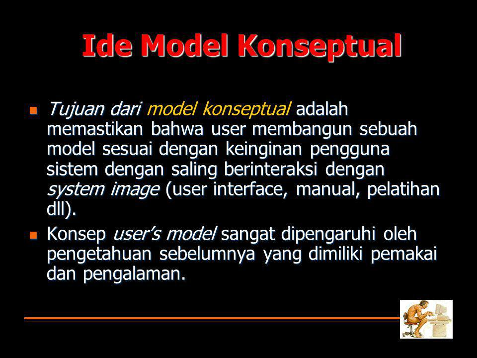 Ide Model Konseptual