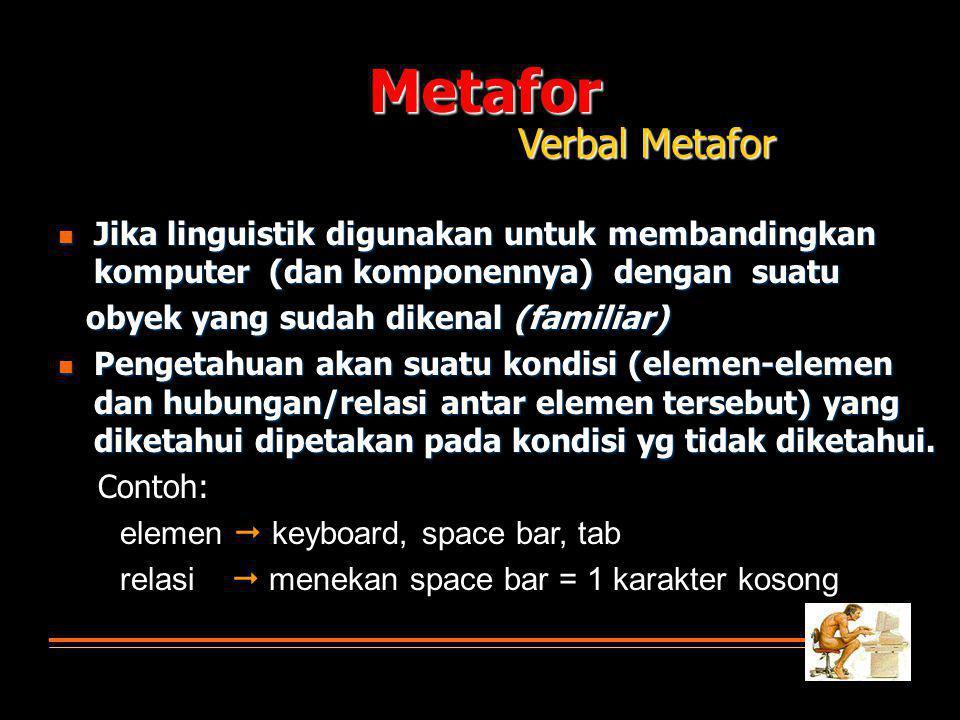 Metafor Verbal Metafor