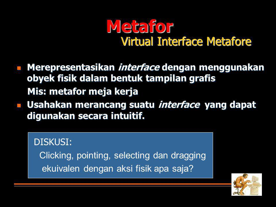 Metafor Virtual Interface Metafore