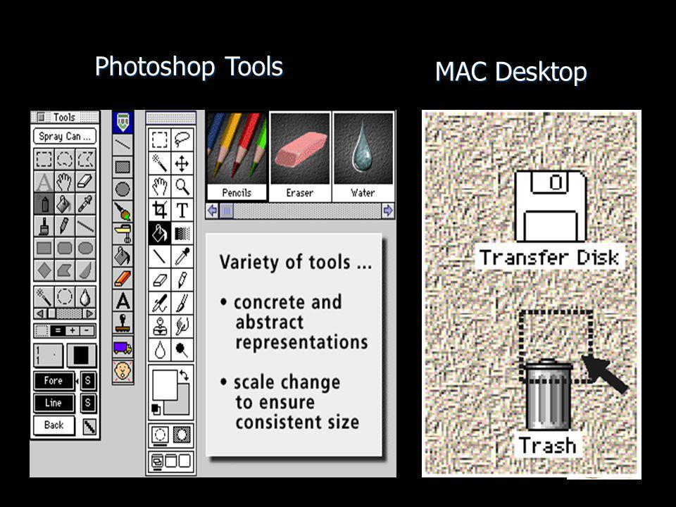 Photoshop Tools MAC Desktop
