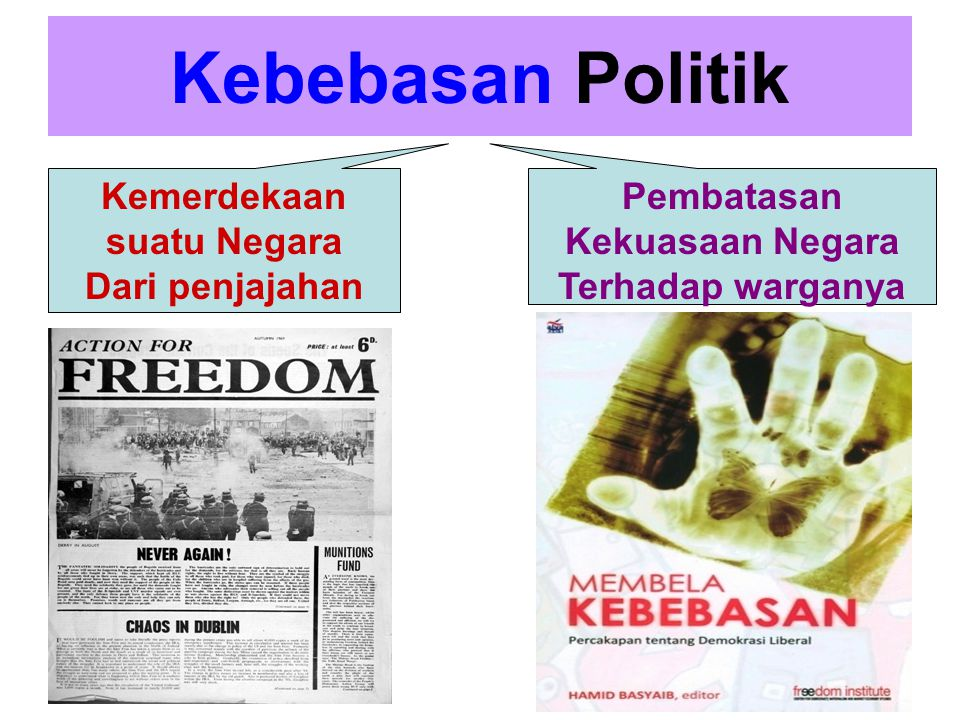 Kemerdekaan suatu Negara Pembatasan Kekuasaan Negara