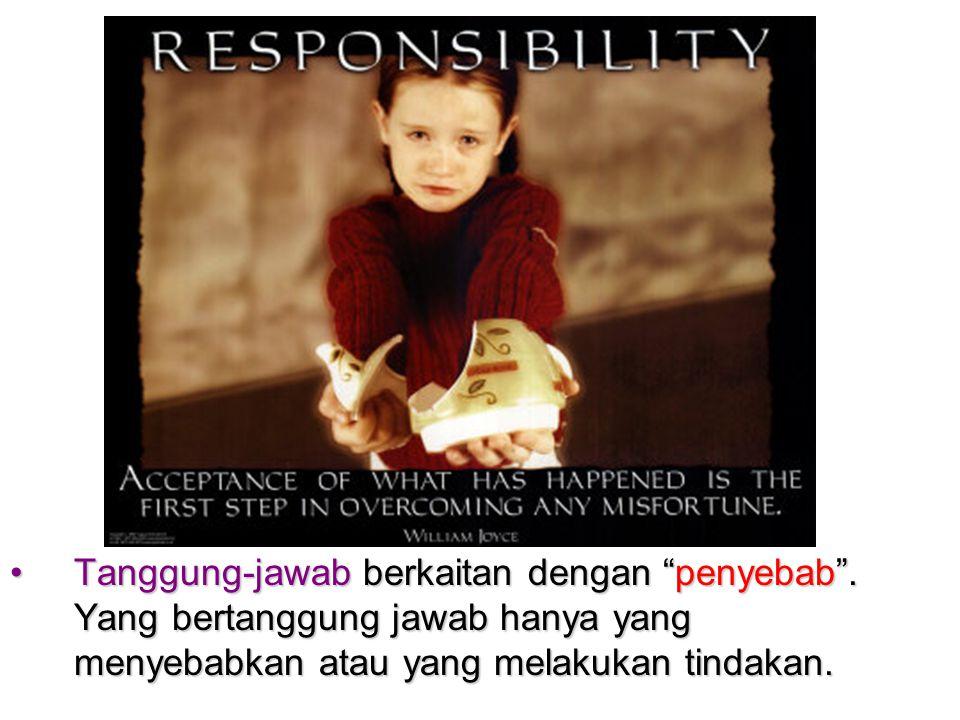 Tanggung-jawab berkaitan dengan penyebab