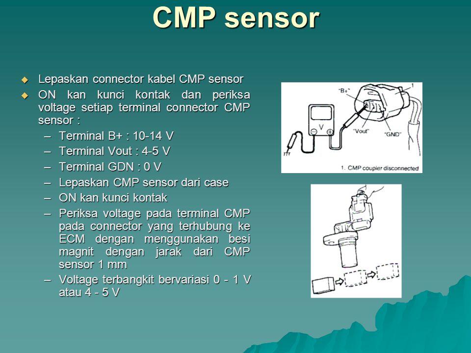 CMP sensor Lepaskan connector kabel CMP sensor
