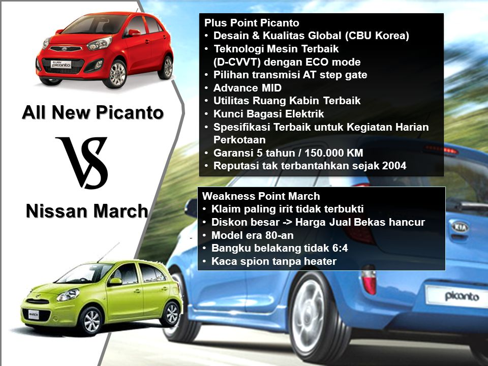All New Picanto Nissan March