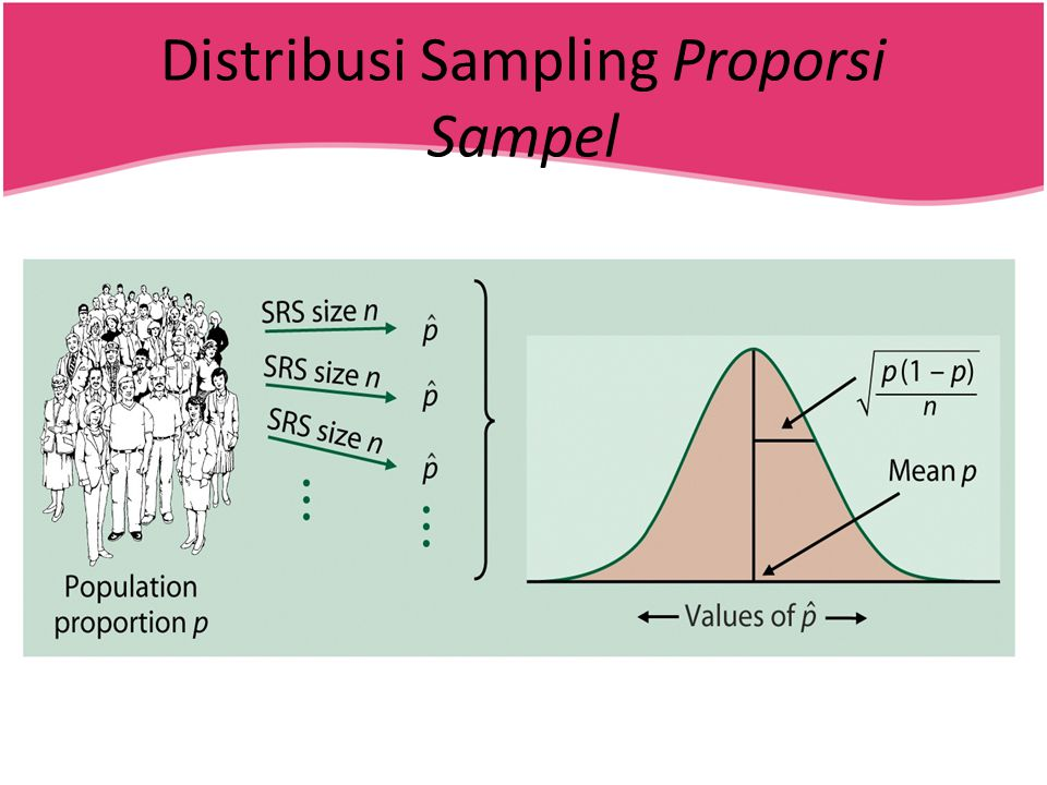 Distribusi Sampling Proporsi Sampel