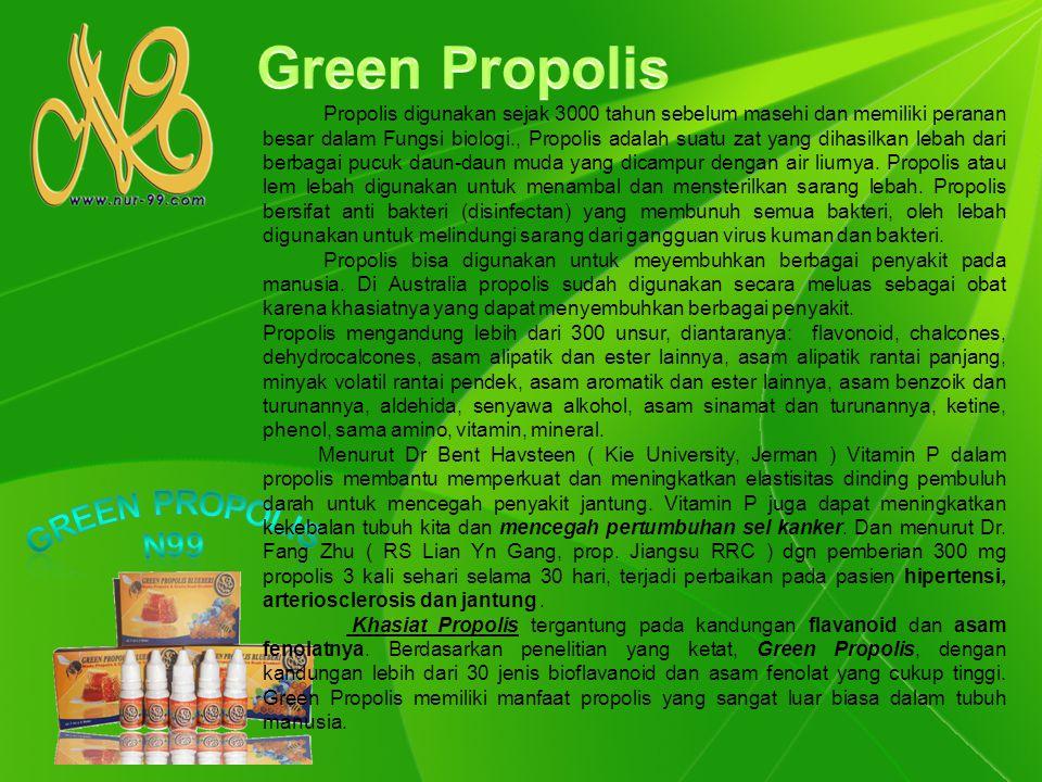 Green Propolis Green propolis N99