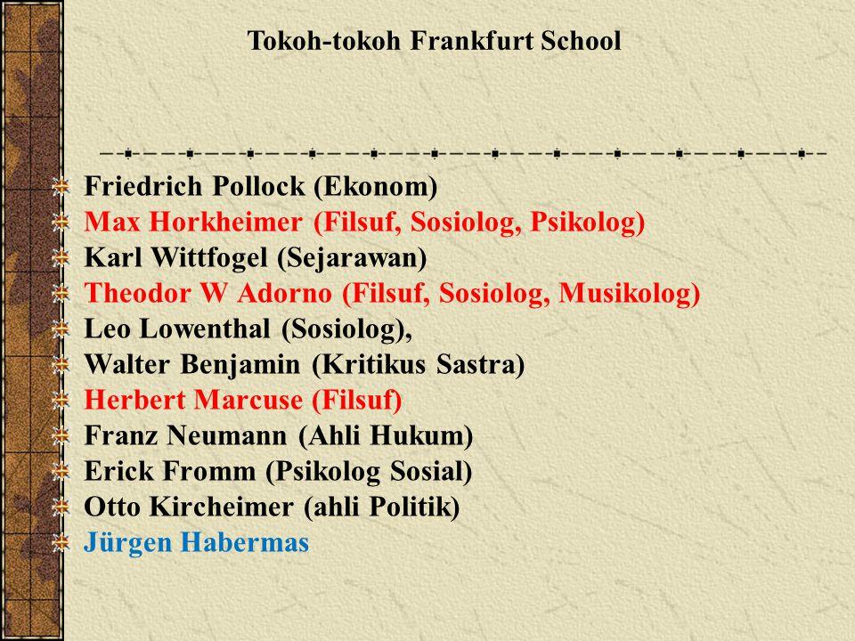 Tokoh-tokoh Frankfurt School
