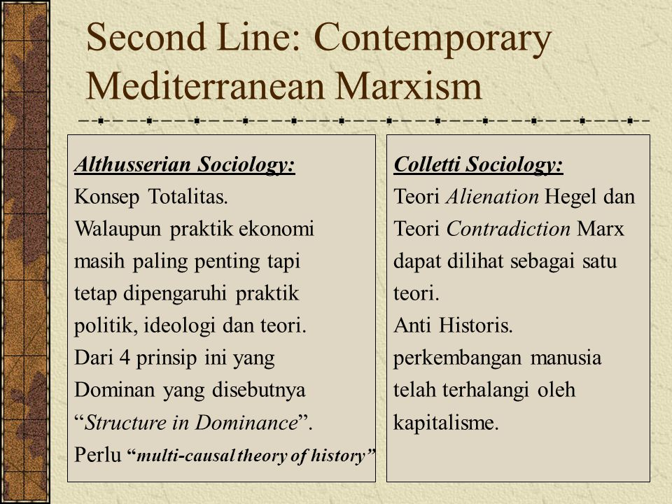 Second Line: Contemporary Mediterranean Marxism