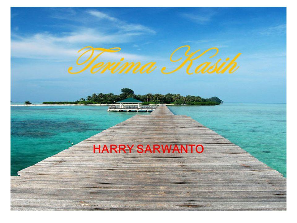 Terima Kasih HARRY SARWANTO