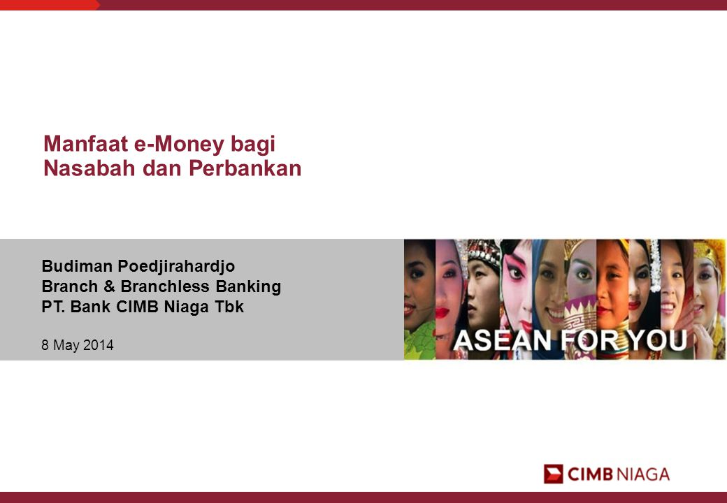 Manfaat e-Money bagi Nasabah dan Perbankan