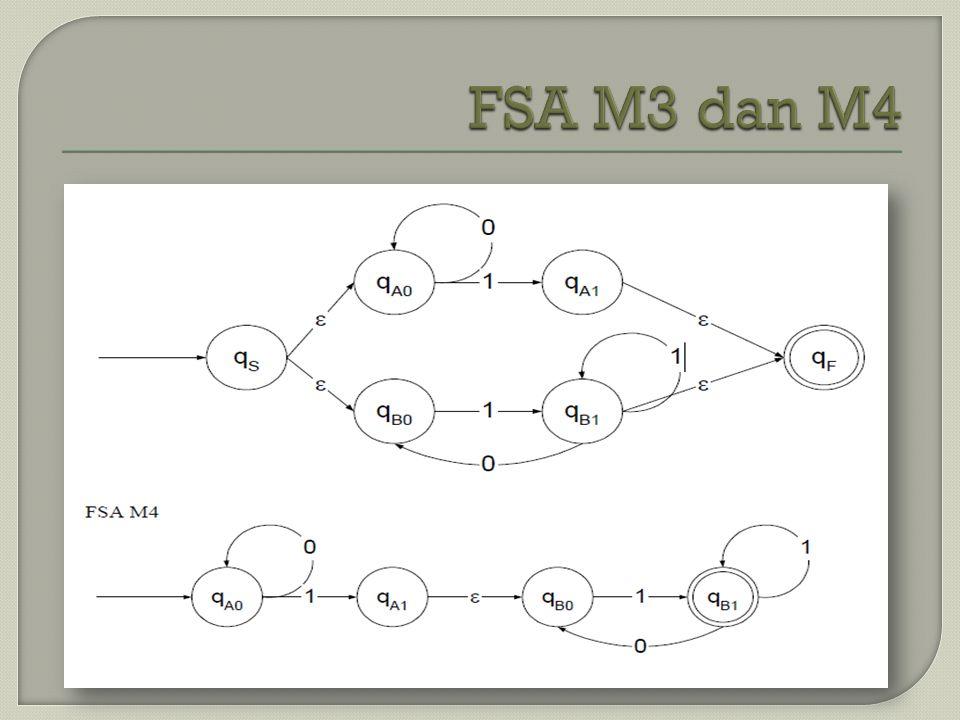 FSA M3 dan M4