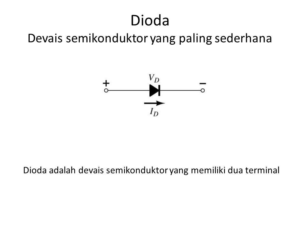 Dioda Devais semikonduktor yang paling sederhana