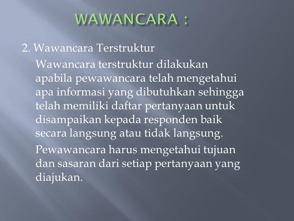 WAWANCARA :