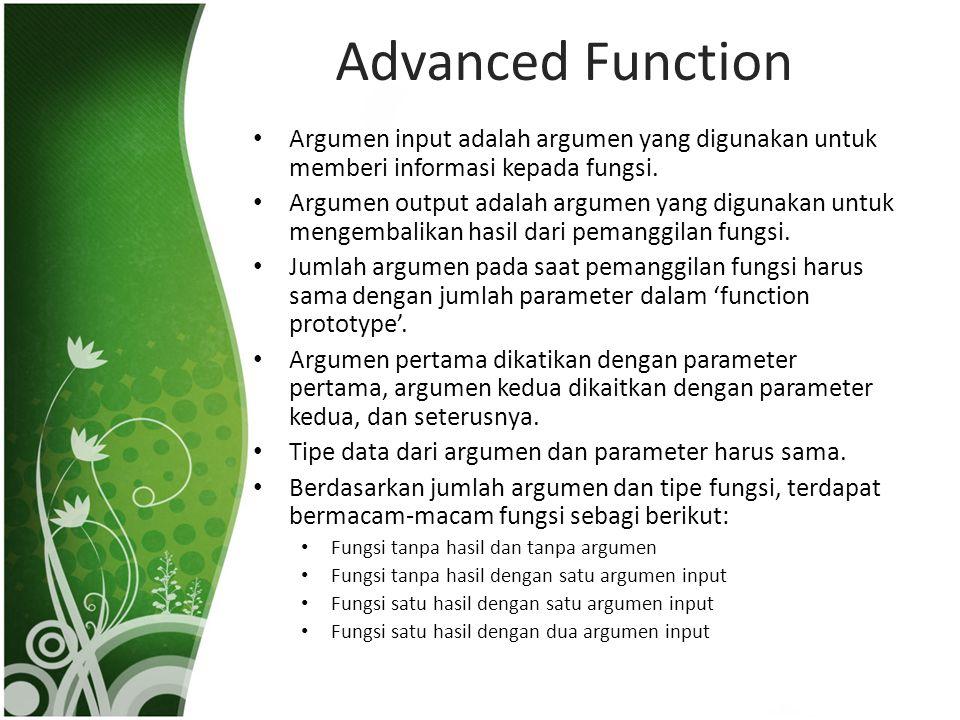 Pemrograman Terstruktur - Pertemuan 3