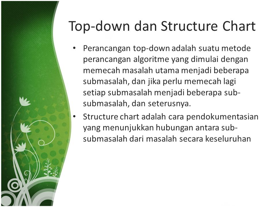 Top-down dan Structure Chart