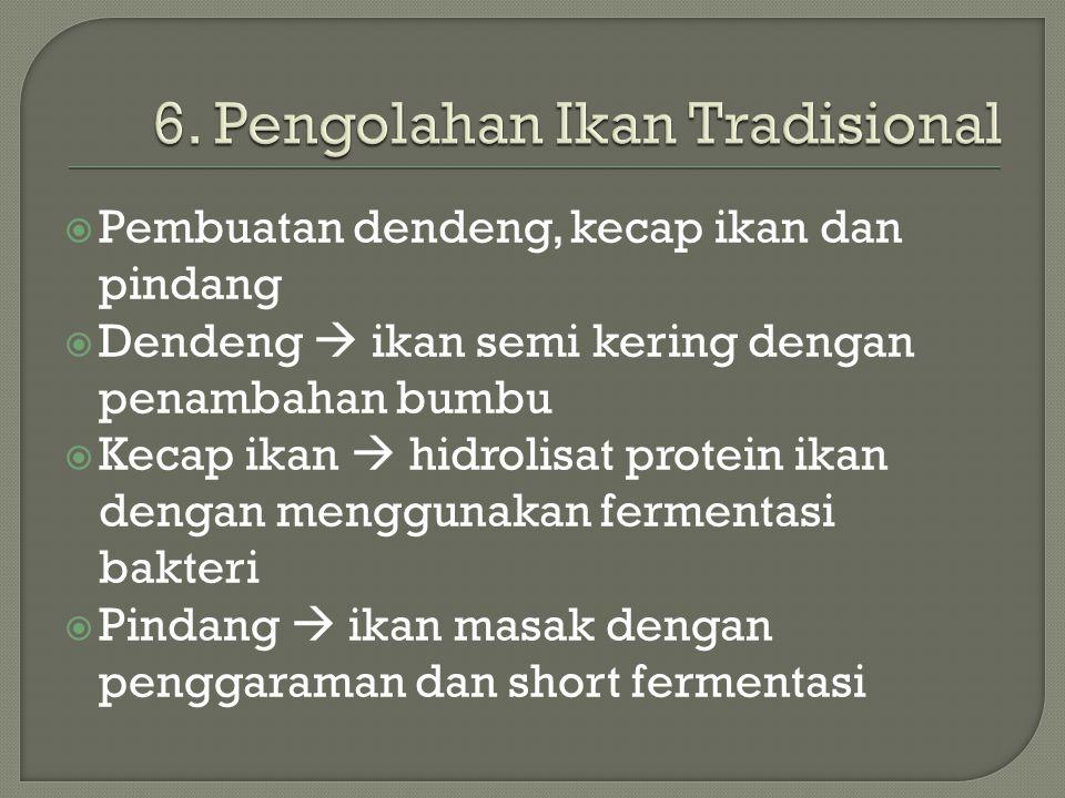 6. Pengolahan Ikan Tradisional