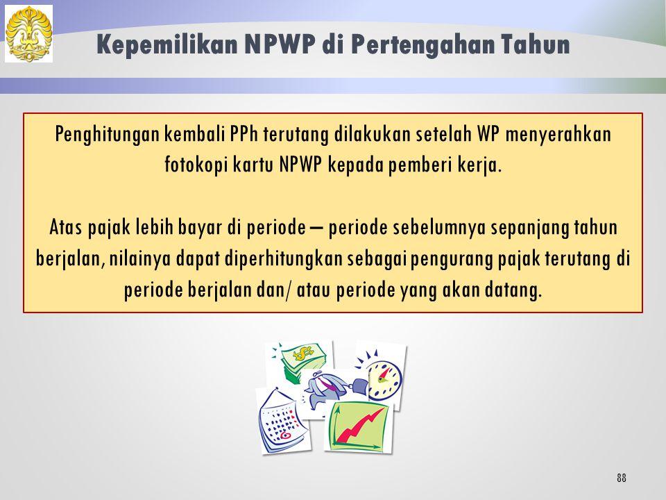 Kepemilikan NPWP di Pertengahan Tahun