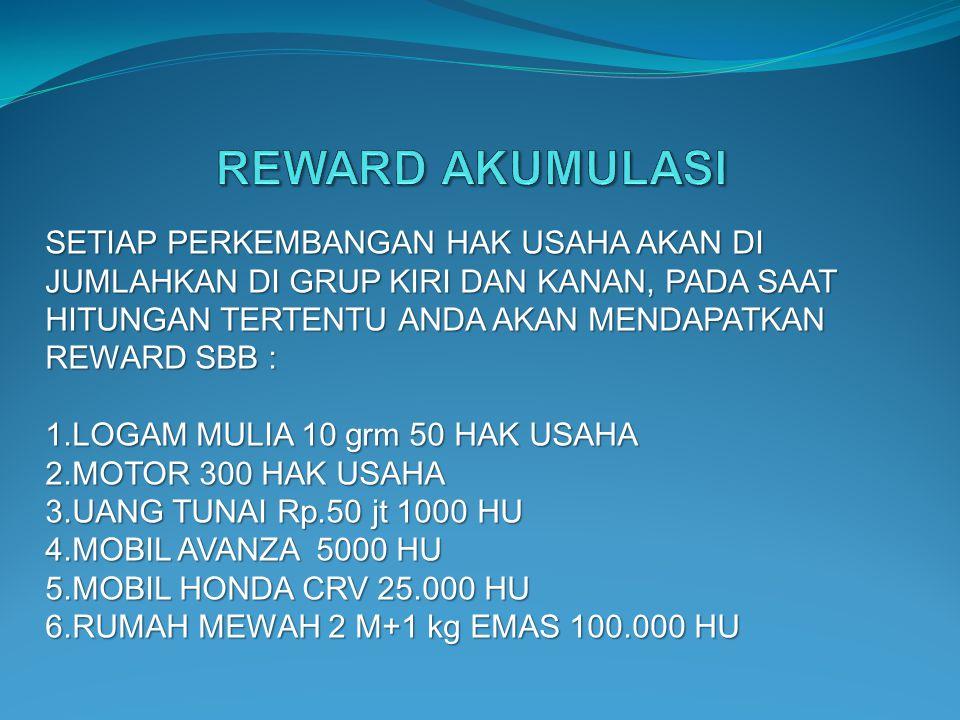 REWARD AKUMULASI