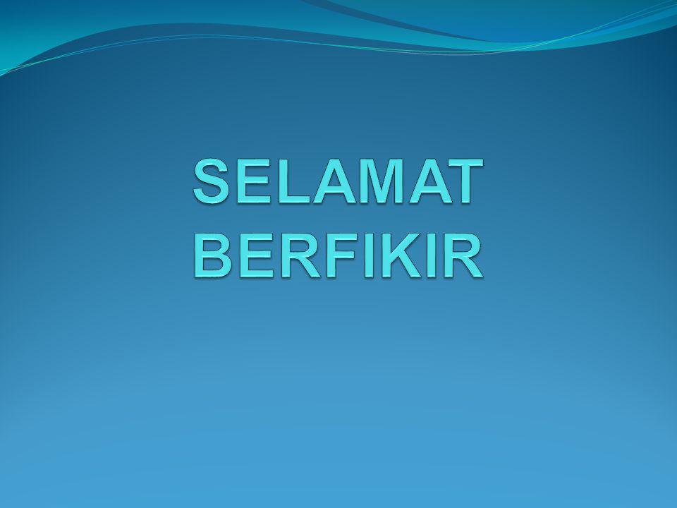SELAMAT BERFIKIR