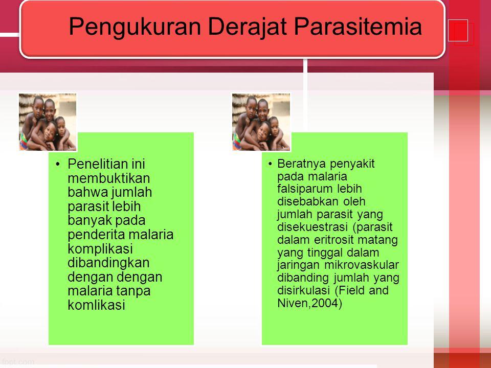 Pengukuran Derajat Parasitemia