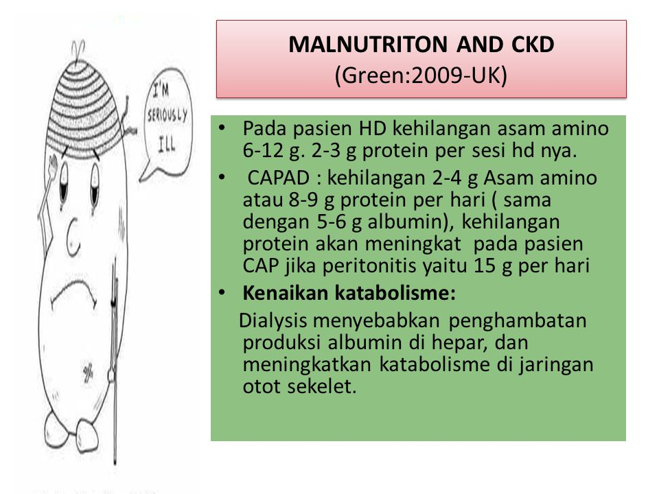 MALNUTRITON AND CKD (Green:2009-UK)