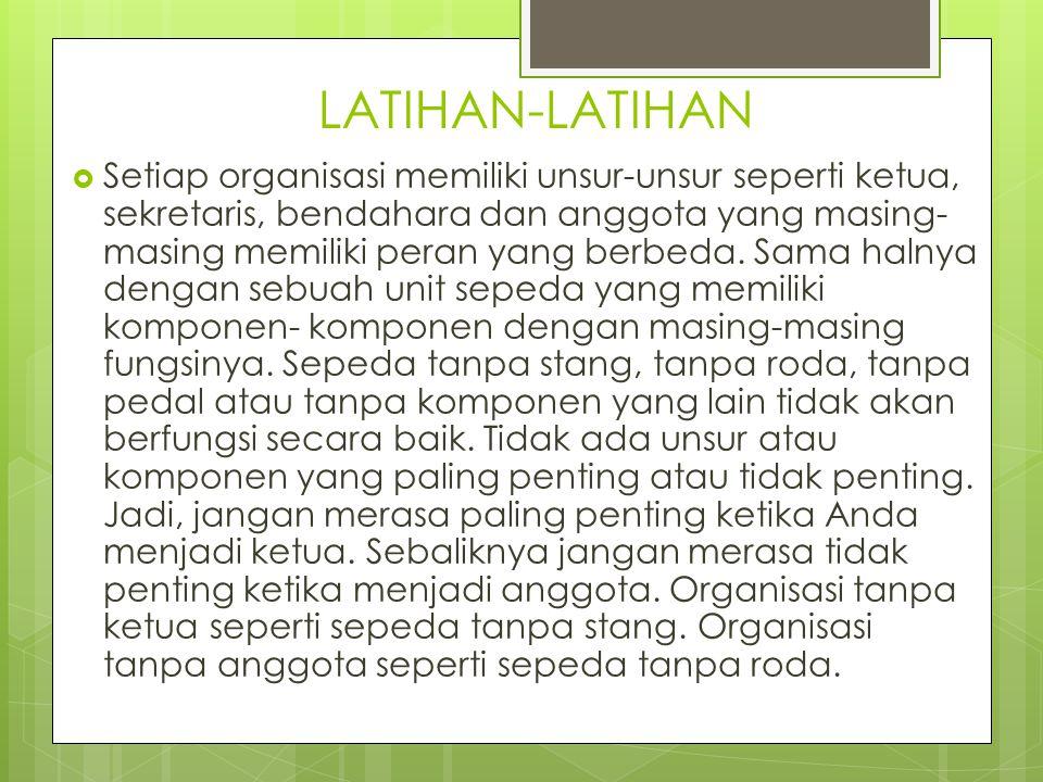 LATIHAN-LATIHAN