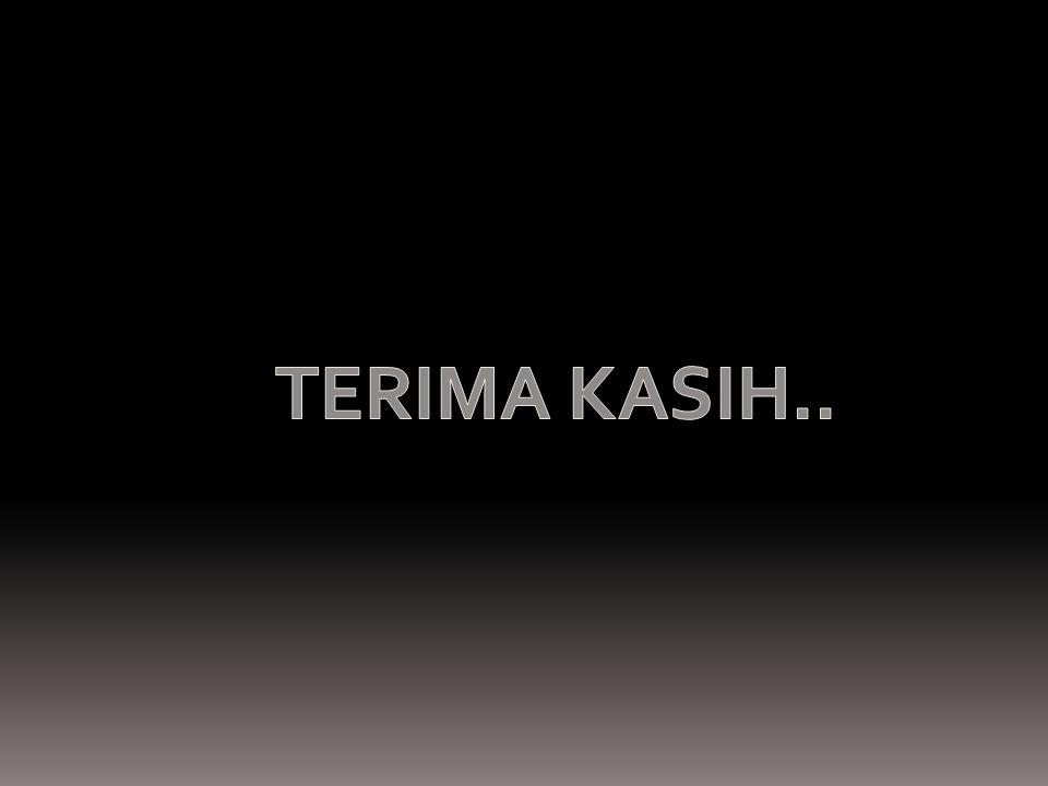 TERIMA KASIH..