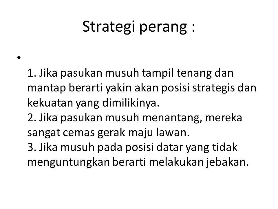 Strategi perang :