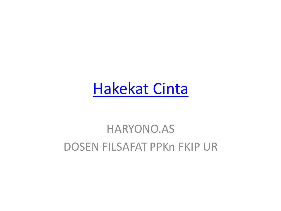HARYONO.AS DOSEN FILSAFAT PPKn FKIP UR