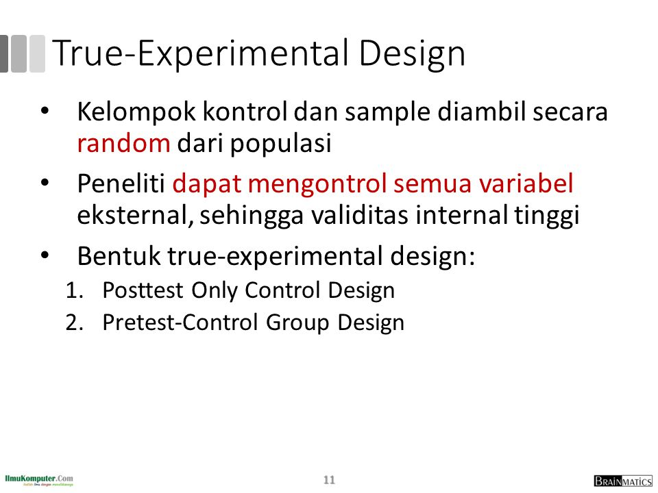True-Experimental Design