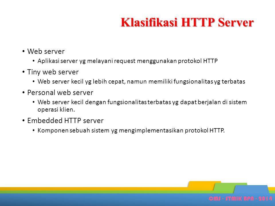 Klasifikasi HTTP Server