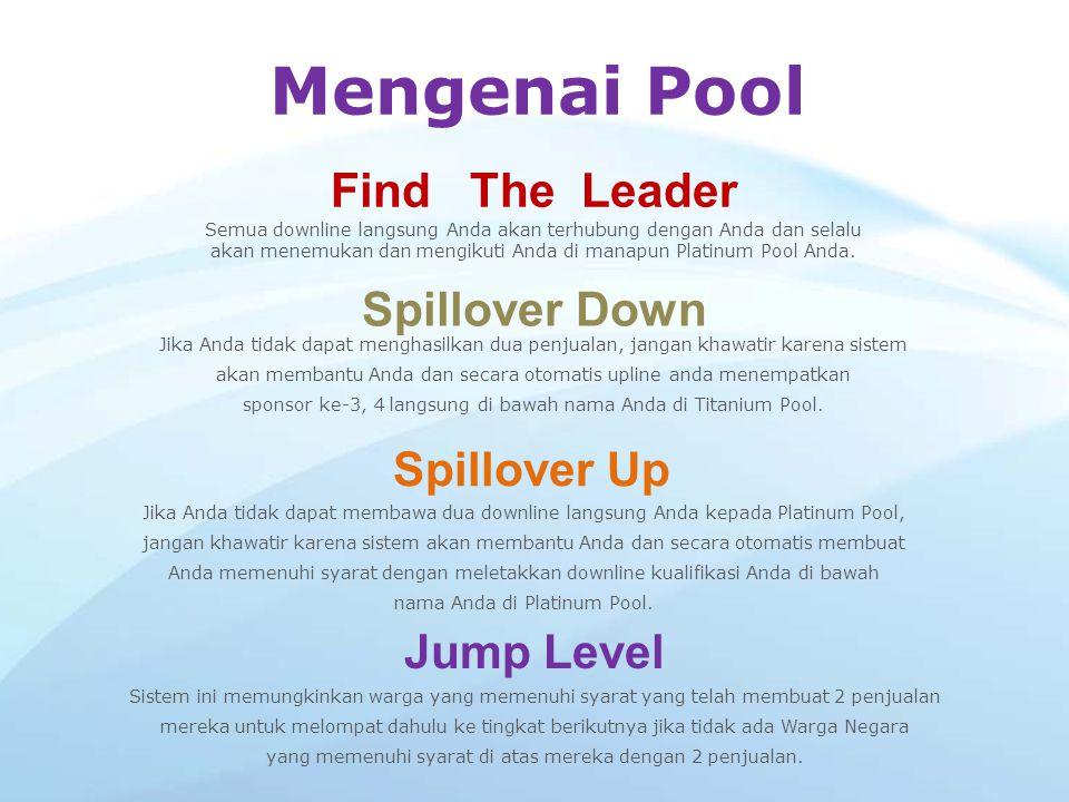 Mengenai Pool Find The Leader Spillover Down Spillover Up Jump Level
