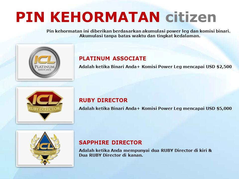 PIN KEHORMATAN citizen