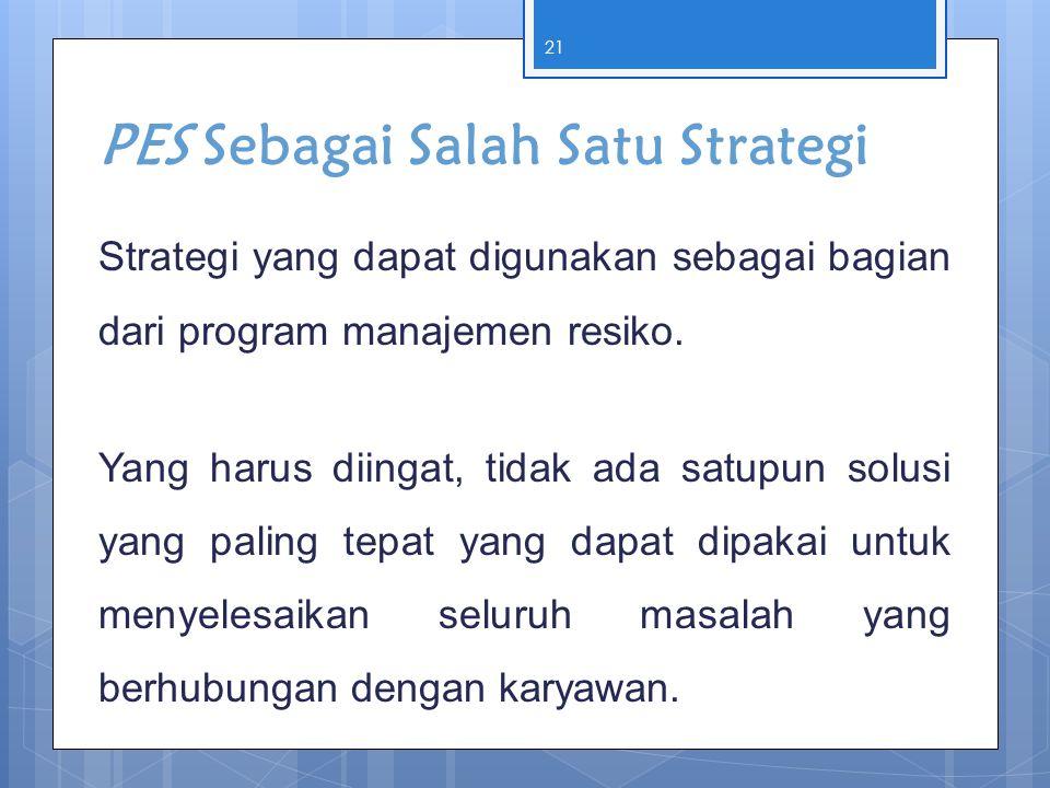 PES Sebagai Salah Satu Strategi
