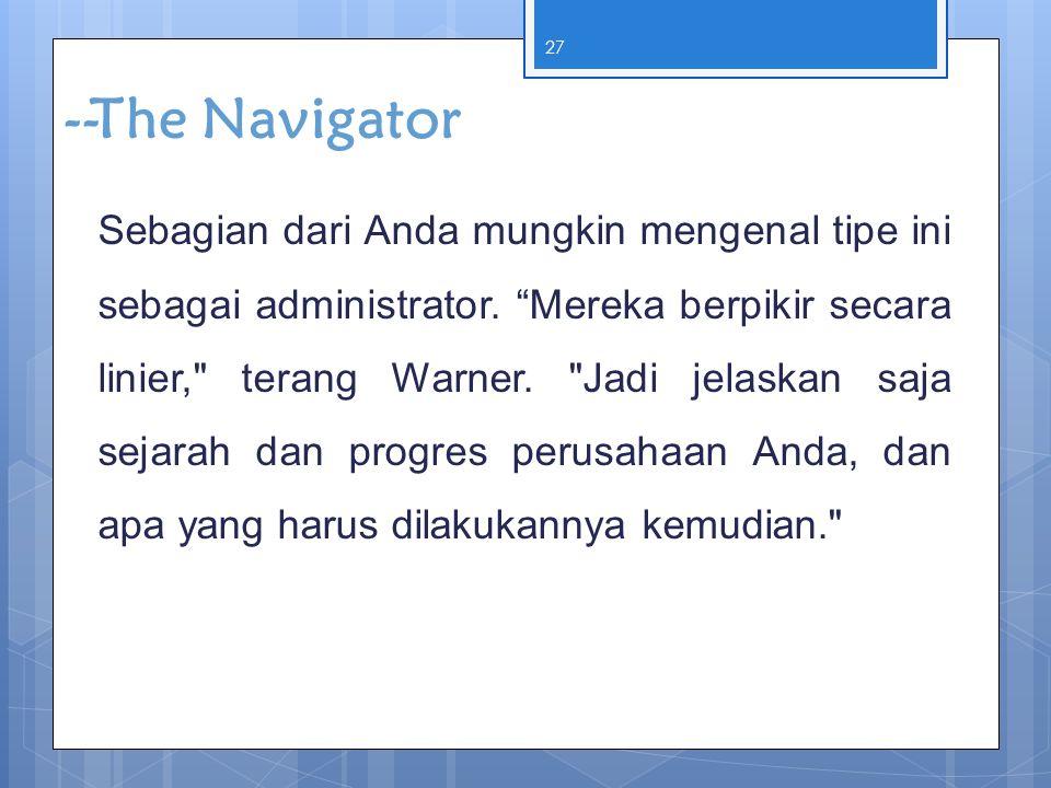 --The Navigator
