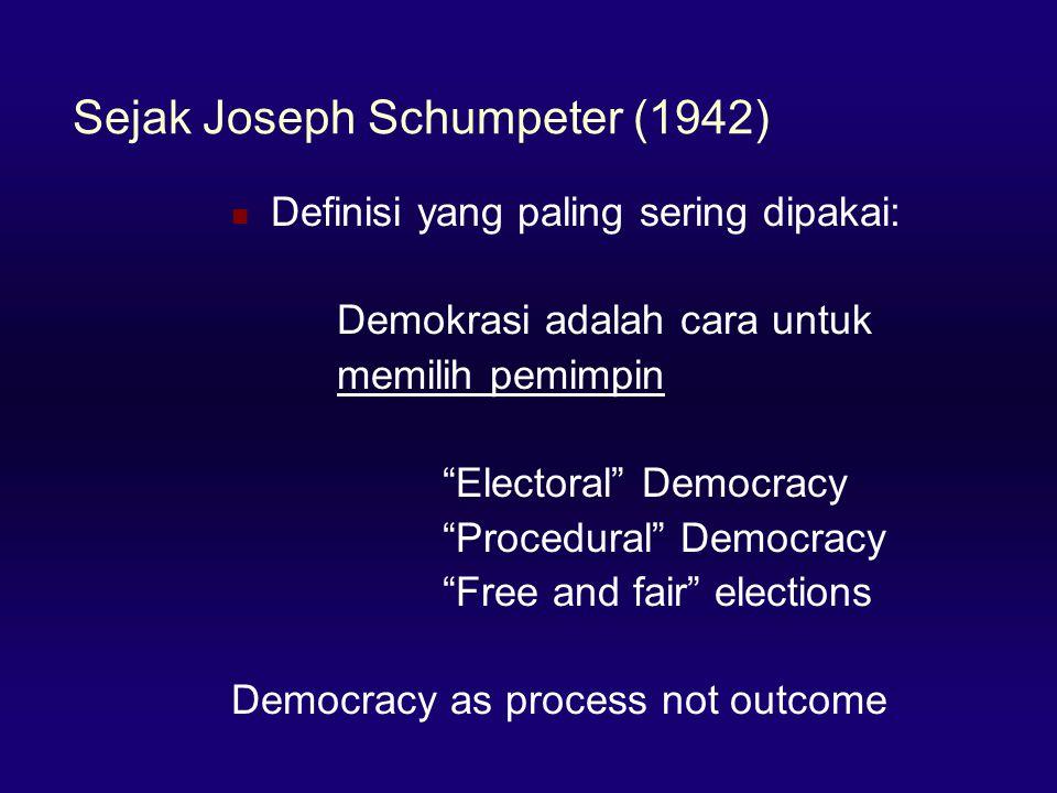 Sejak Joseph Schumpeter (1942)